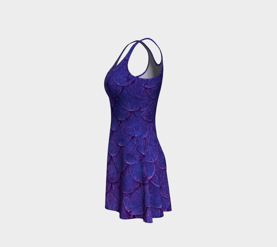 Enchanting Mermaid Scales Dress preview #2
