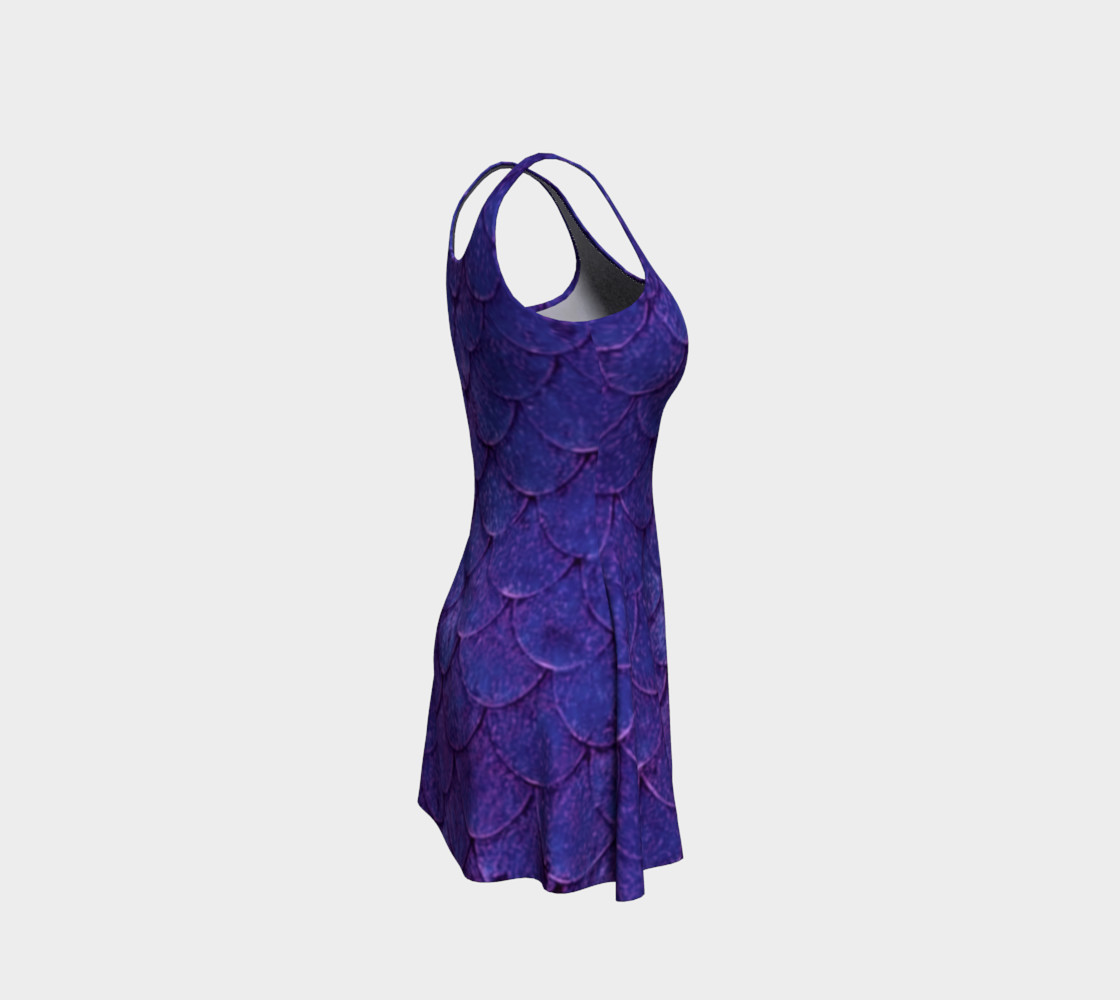 Enchanting Mermaid Scales Dress preview #4