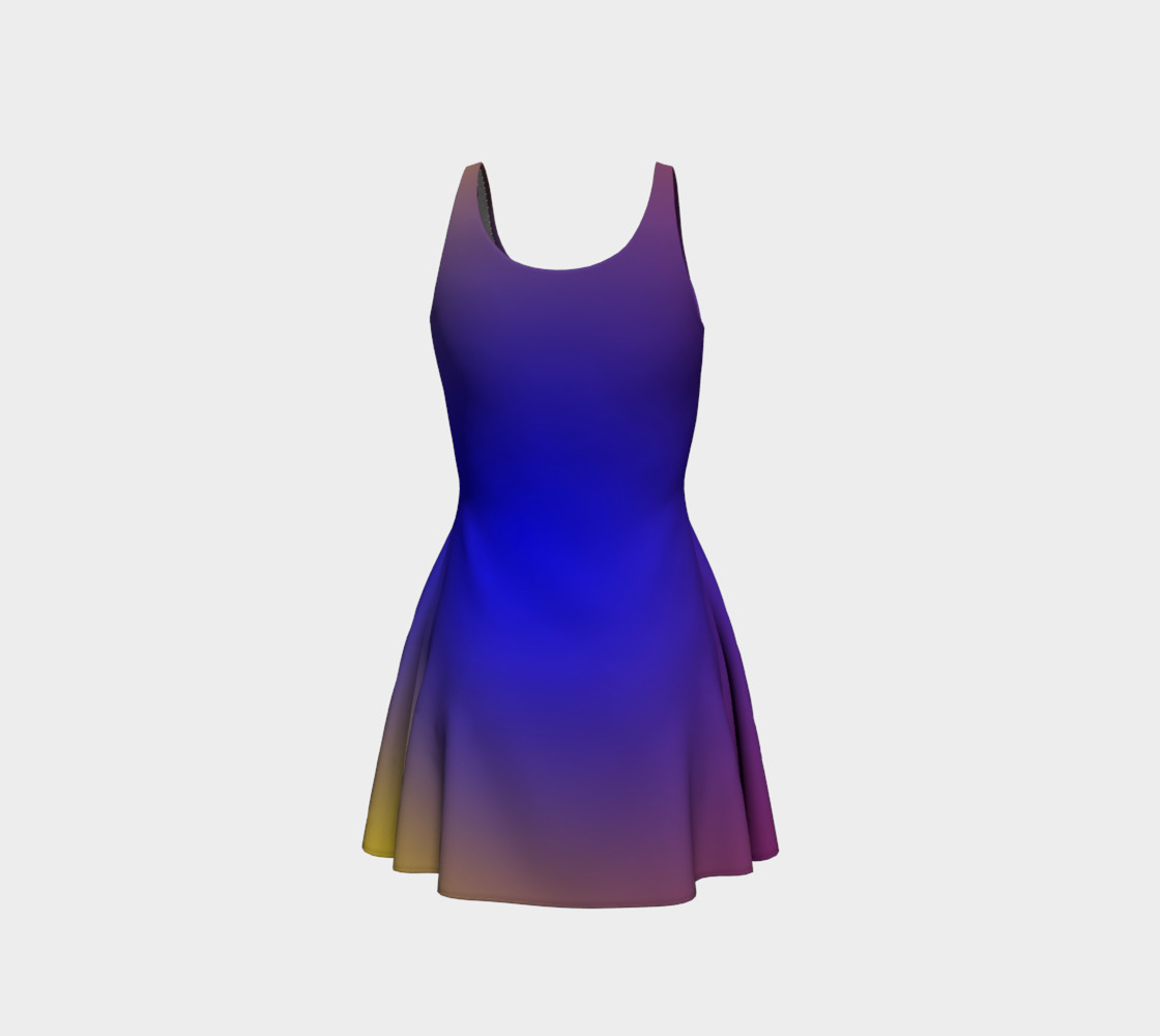 Mind's Eye Flare Dress preview #3