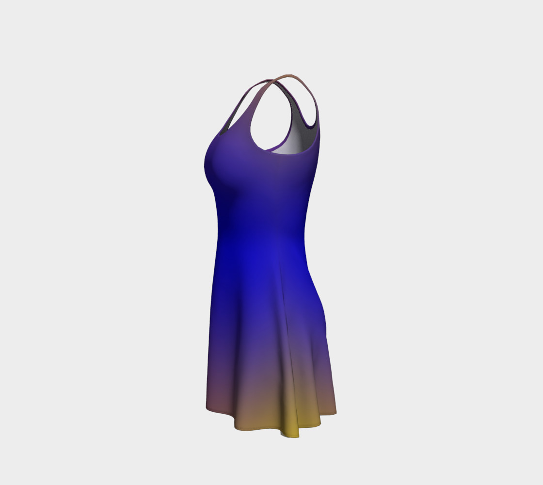 Mind's Eye Flare Dress preview #2