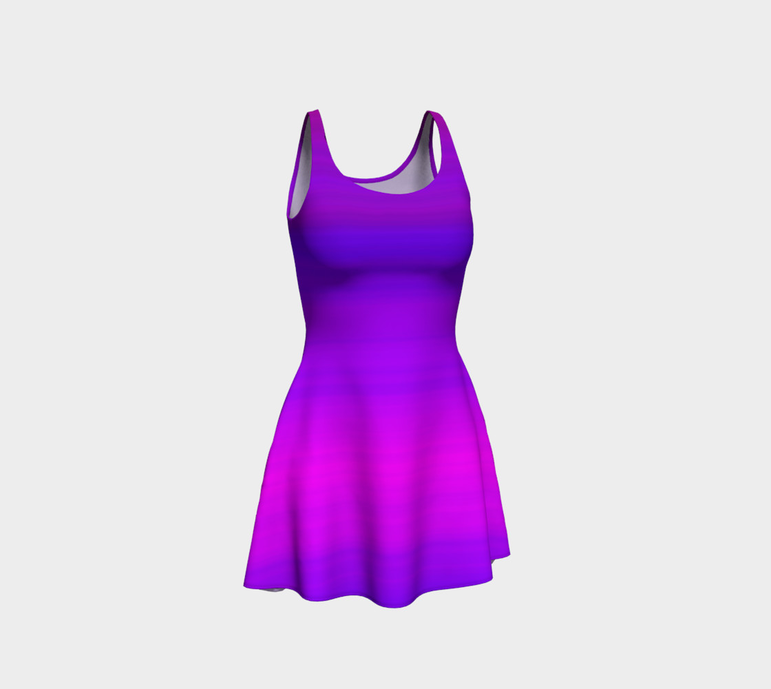 Drifting Flare Dress preview #1