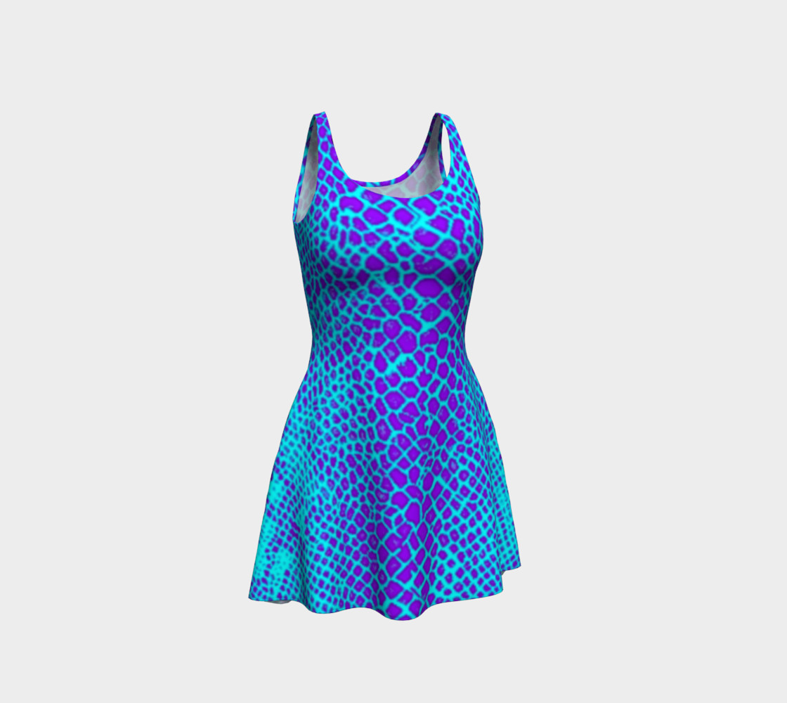 Neon Viper Dress preview #1