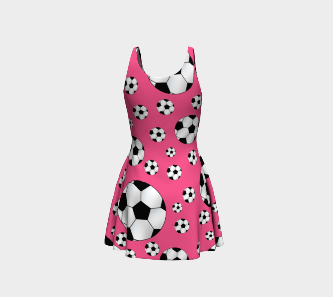 Pink soccer balls preview #3