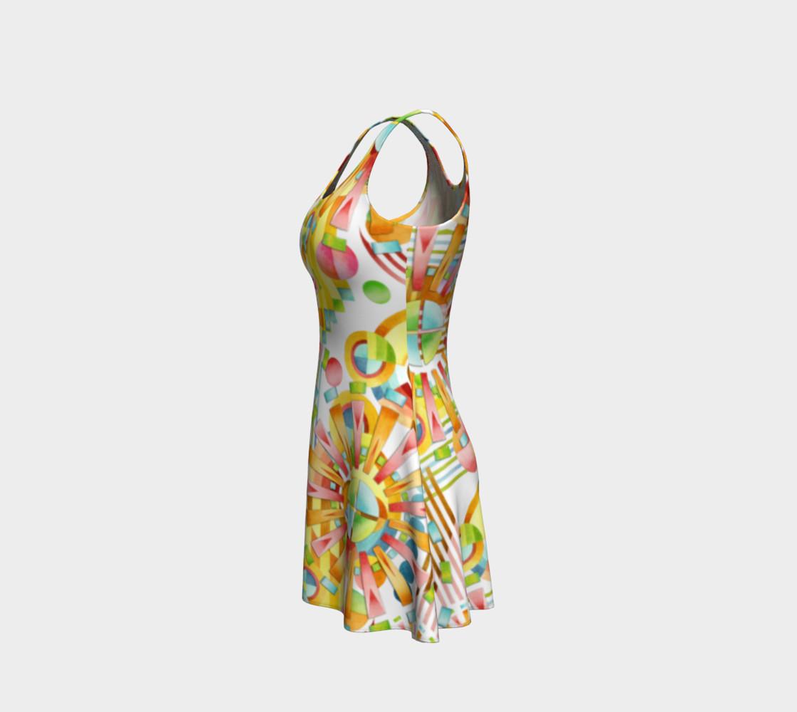 Aperçu de Art Deco Party Flare Dress #2