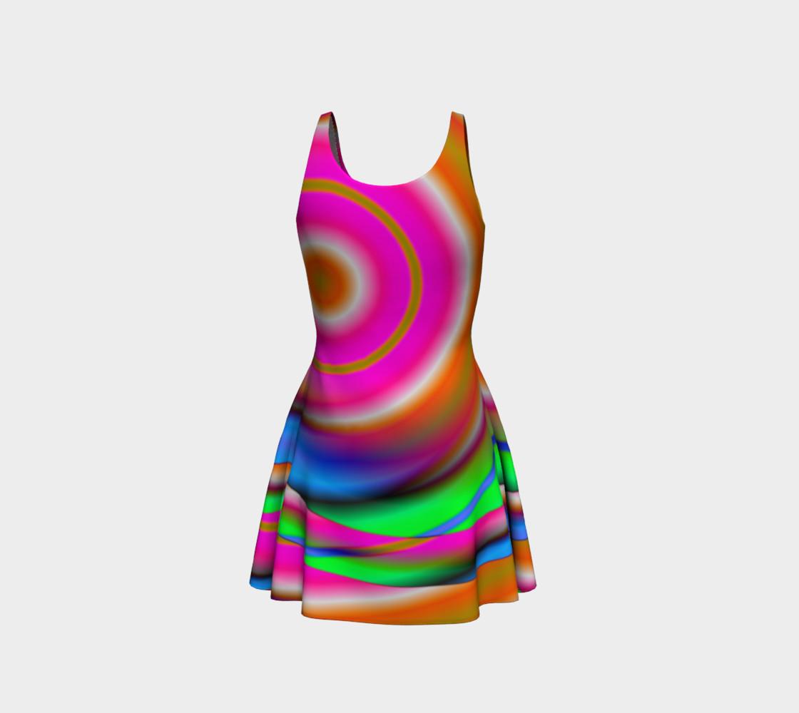 Aperçu de Candy Twist Flare Dress #3