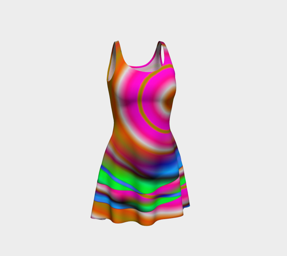 Aperçu de Candy Twist Flare Dress #1