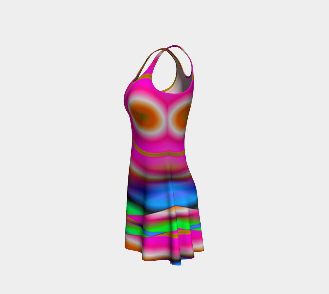 Aperçu de Candy Twist Flare Dress #2