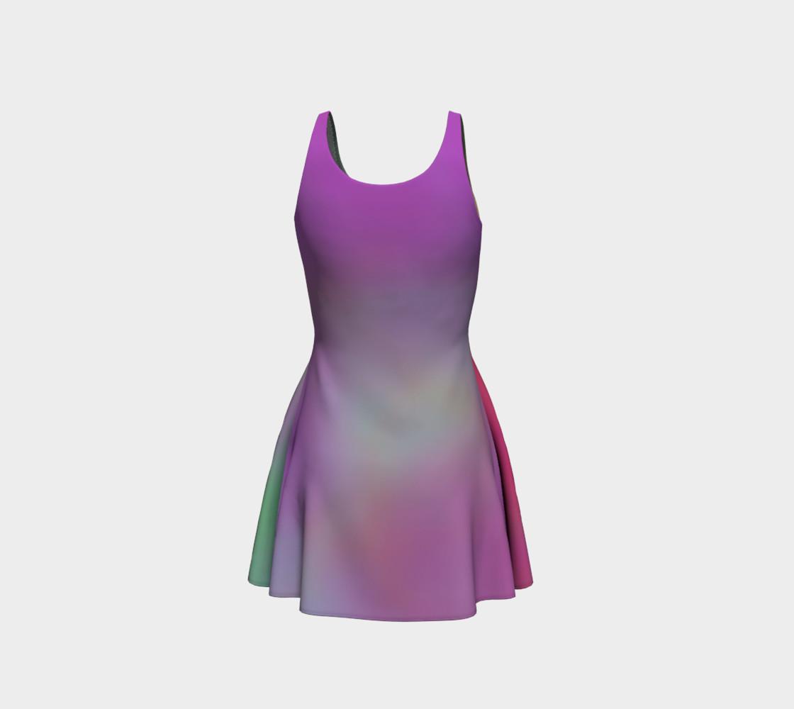 Aperçu de FRUITY SKY Flare Dress #3