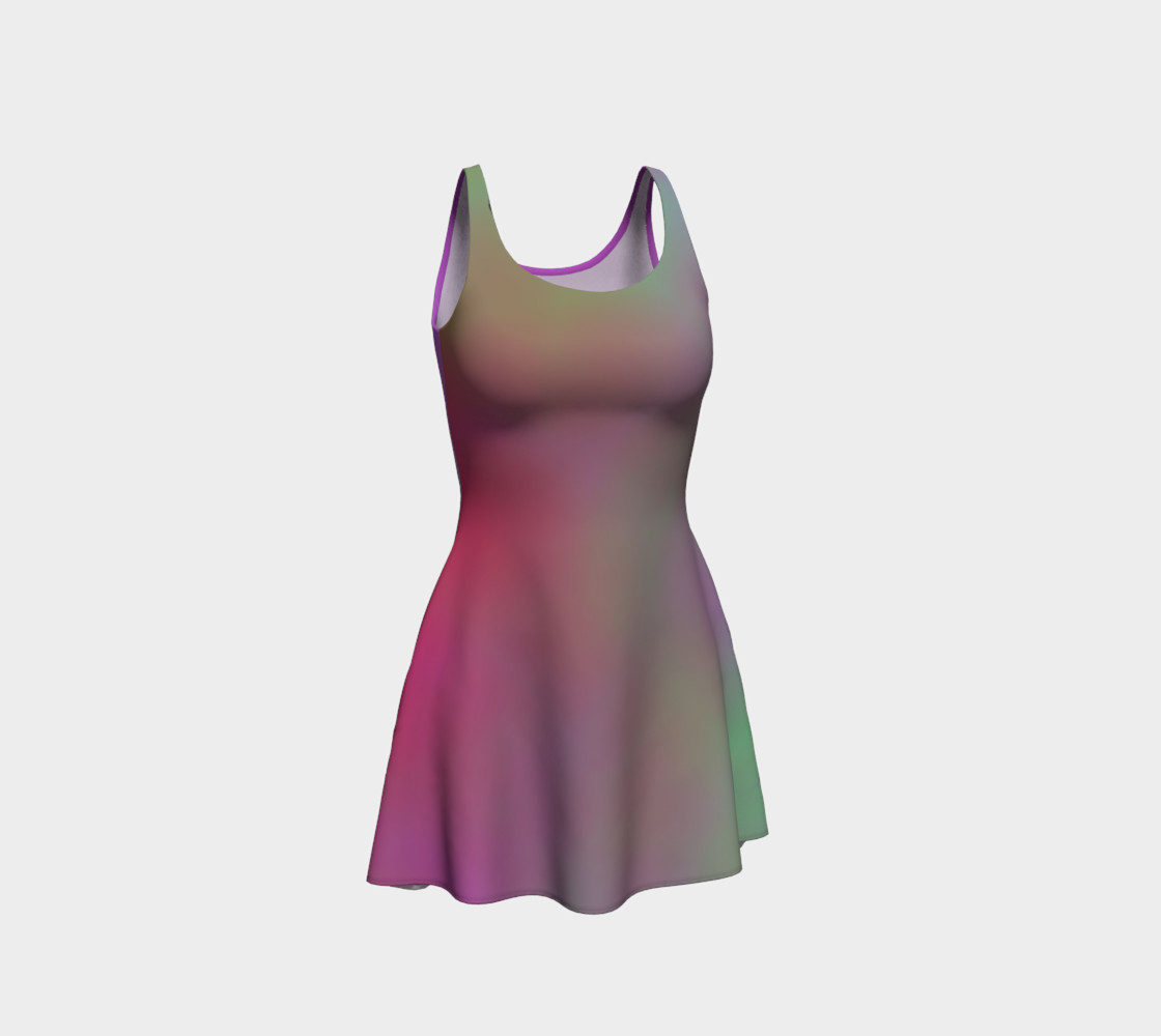 Aperçu de FRUITY SKY Flare Dress #1