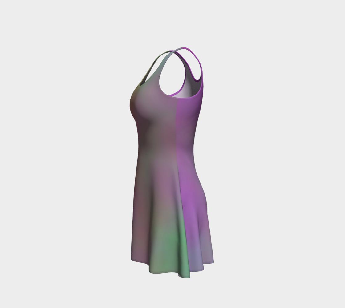 Aperçu de FRUITY SKY Flare Dress #2