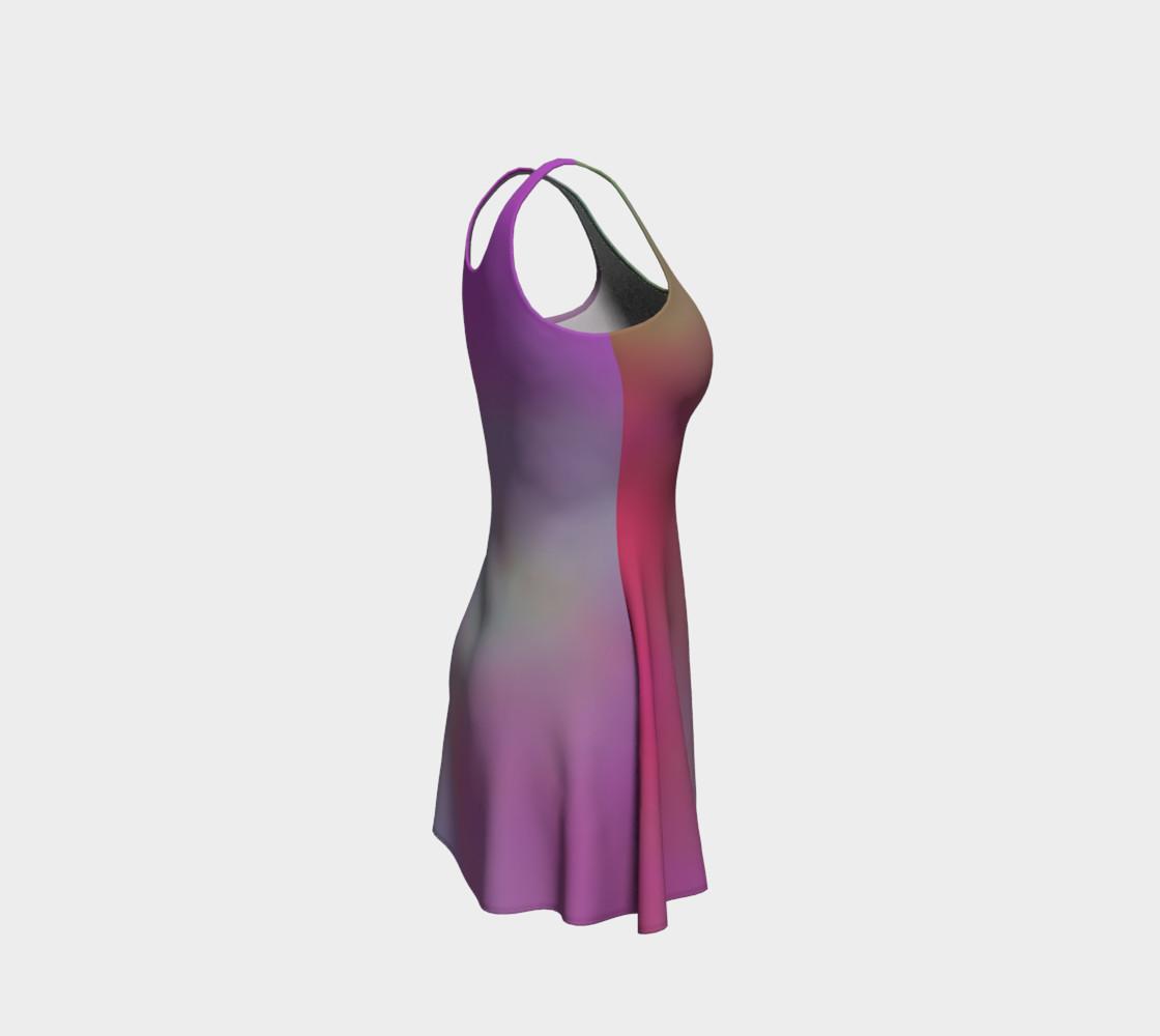 Aperçu de FRUITY SKY Flare Dress #4