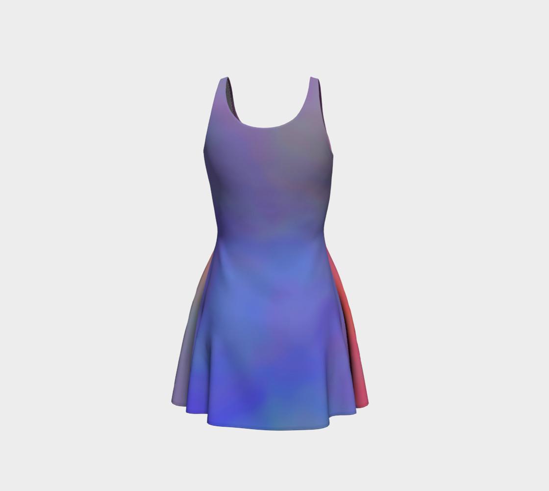 Aperçu de HEAVENLY HUES Flare Dress #3