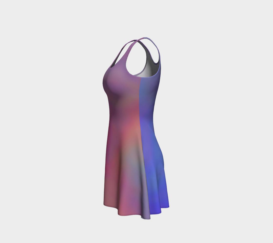 Aperçu de HEAVENLY HUES Flare Dress #2