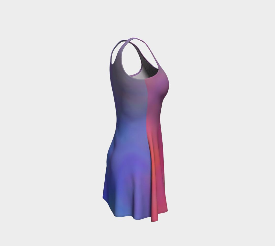 Aperçu de HEAVENLY HUES Flare Dress #4