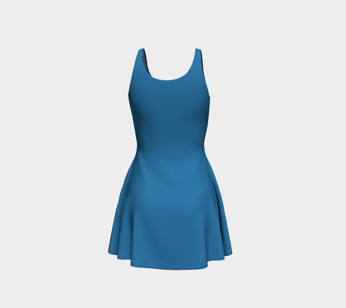 Aperçu de Patriot Blue Flare Dress #3