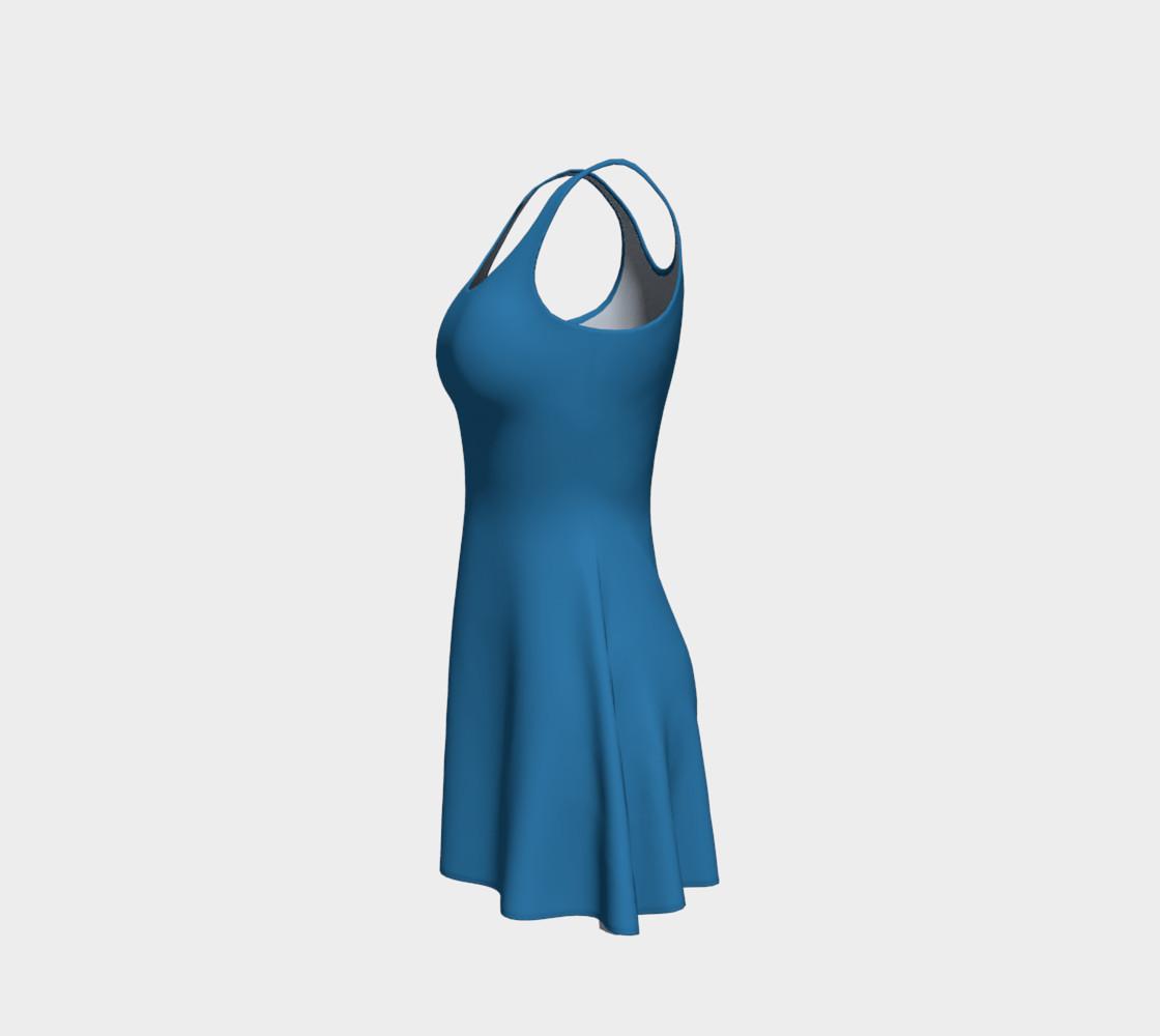 Aperçu de Patriot Blue Flare Dress #2