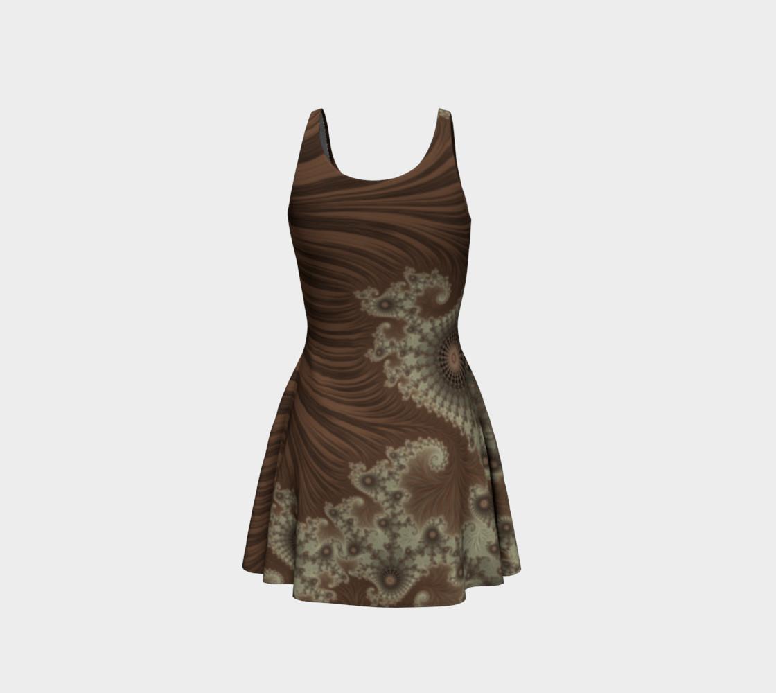Desert Oasis Flare Dress preview #3