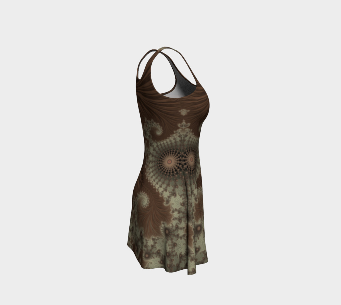 Desert Oasis Flare Dress preview #4