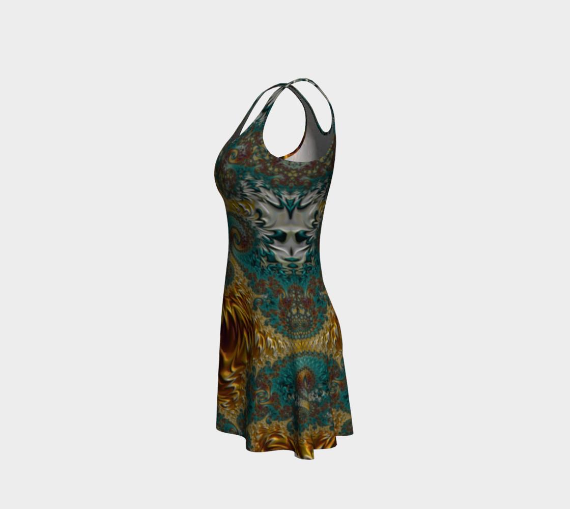 Marigold Garden Flare Dress preview #2