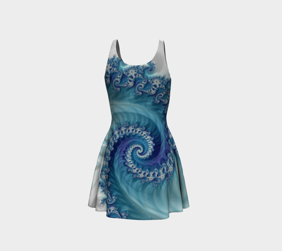 Sound of Seashell Flare Dress preview #3