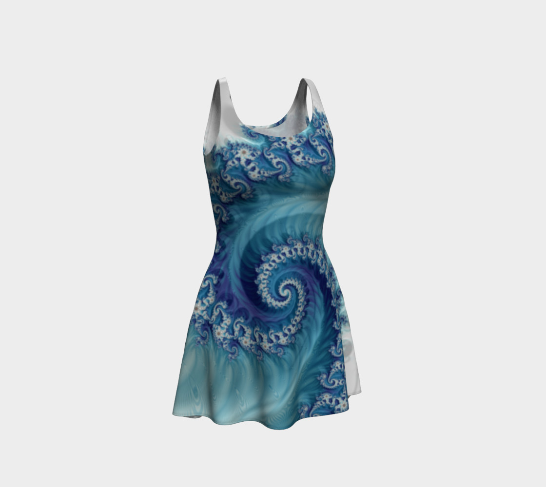 Sound of Seashell Flare Dress preview #1