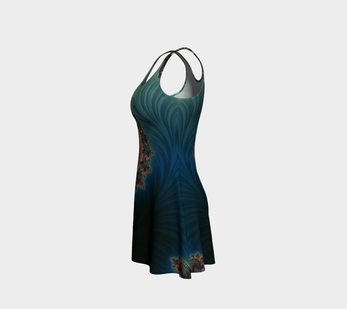 Velvet Crush Flare Dress preview #2