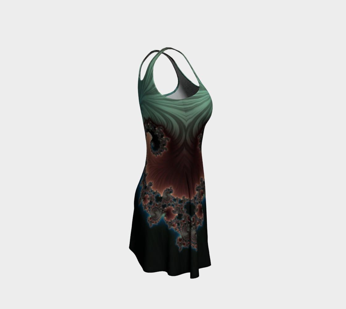 Velvet Crush Flare Dress preview #4