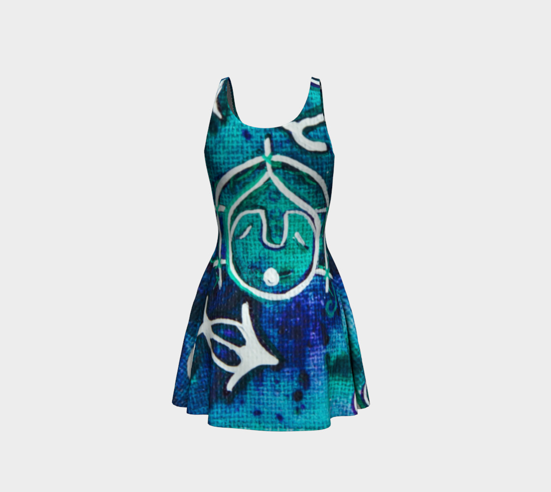 Whistler Mask Flare Dress preview #3
