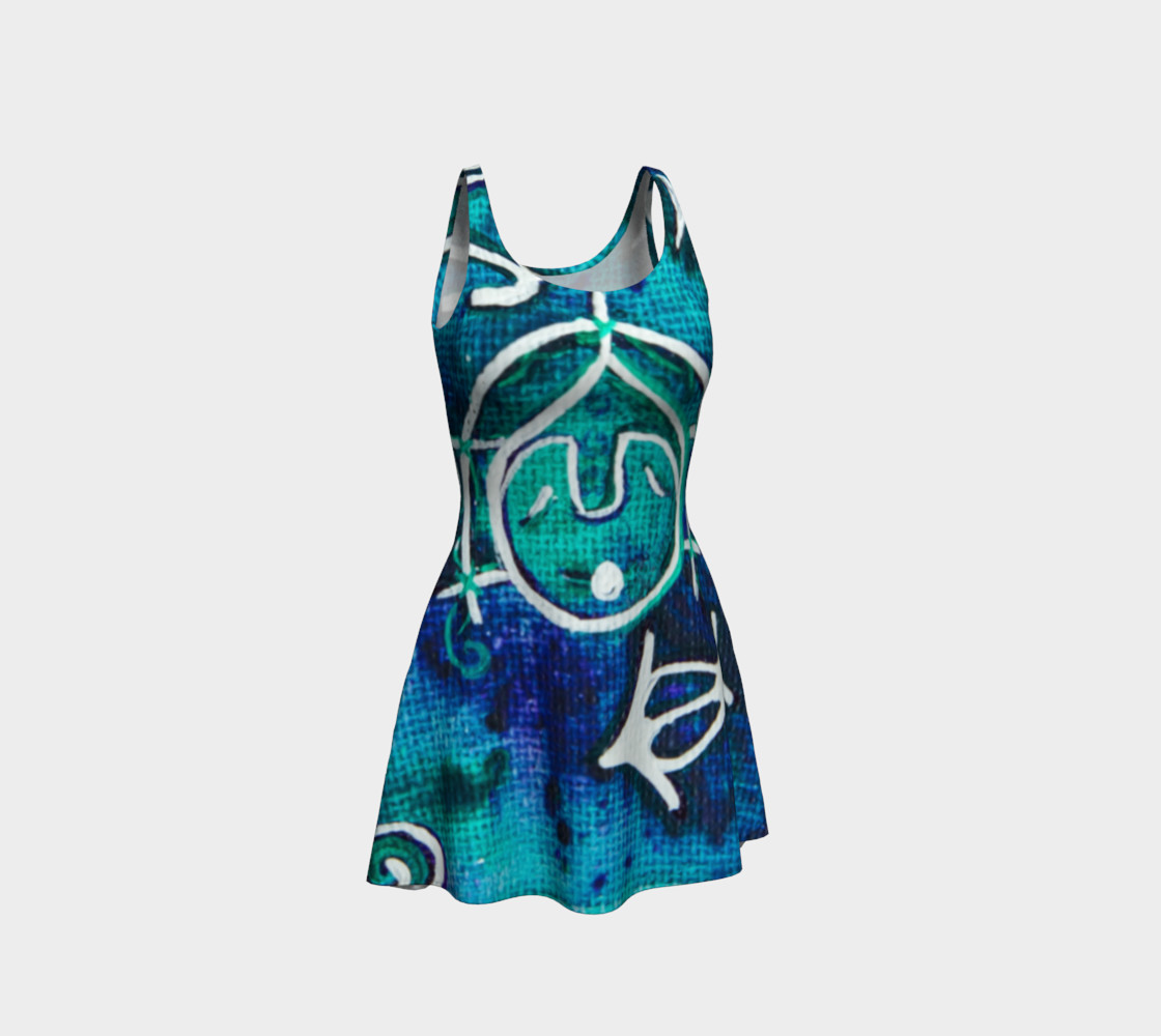 Whistler Mask Flare Dress preview #1