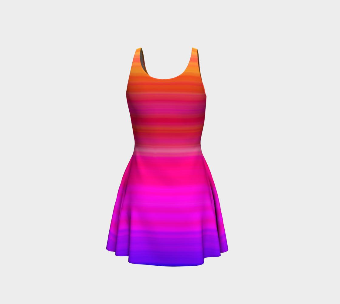Aperçu de Raise Your Vibe Flare Dress #3