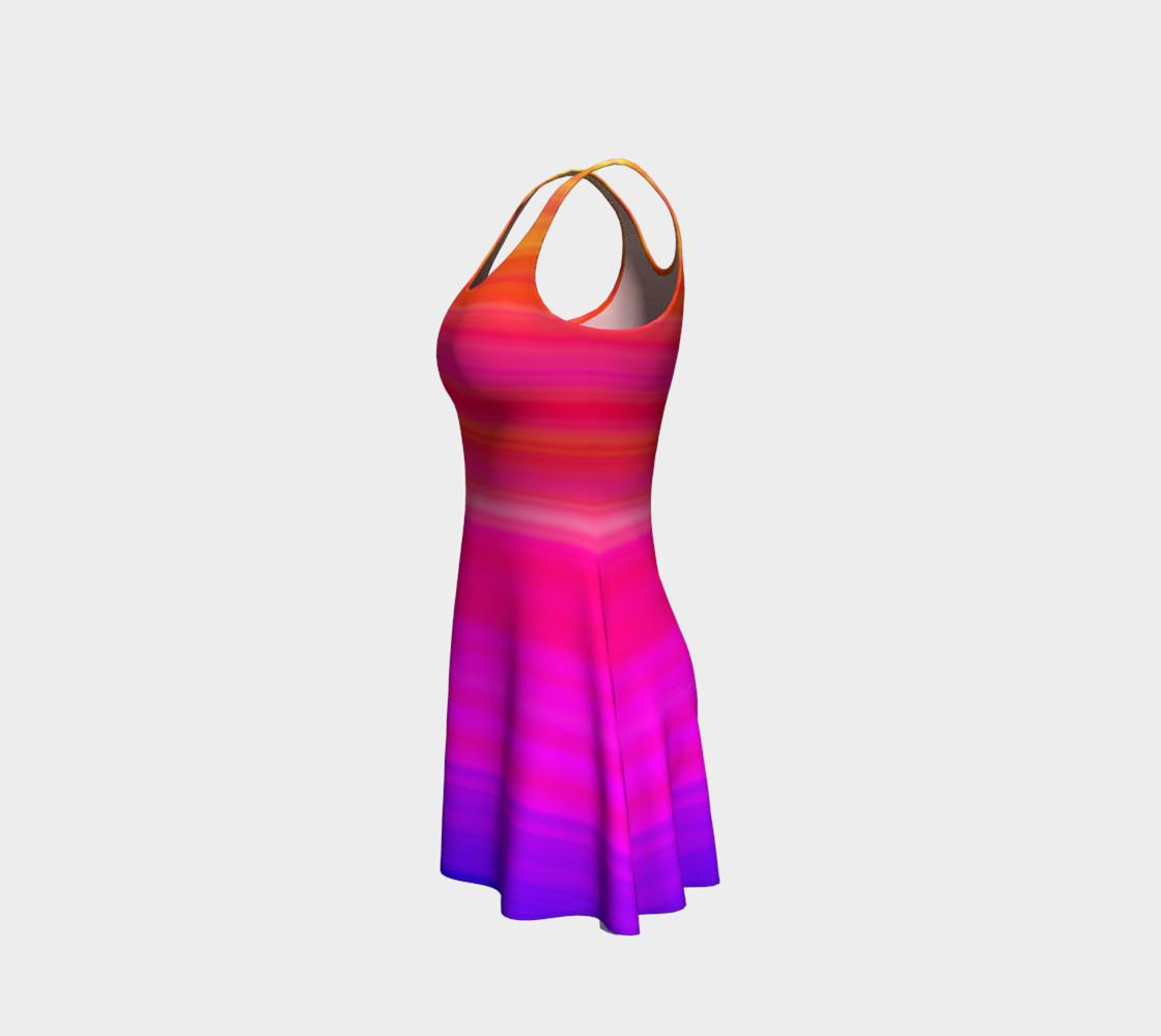 Aperçu de Raise Your Vibe Flare Dress #2