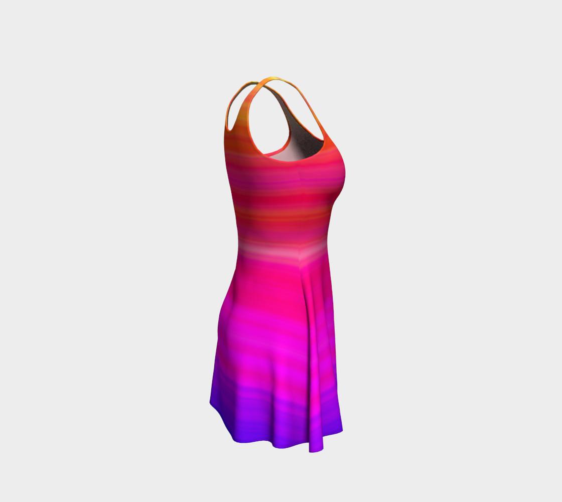 Aperçu de Raise Your Vibe Flare Dress #4