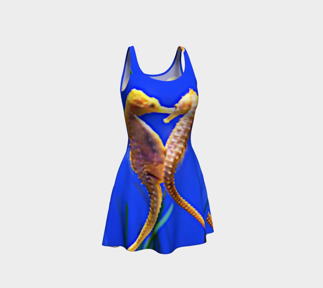 Dancing Seahorses Skater Dress  preview #1