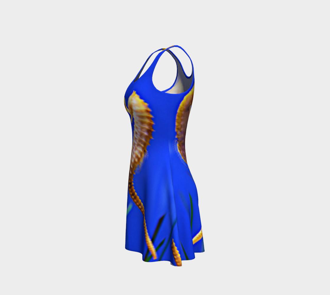 Dancing Seahorses Skater Dress  preview #2