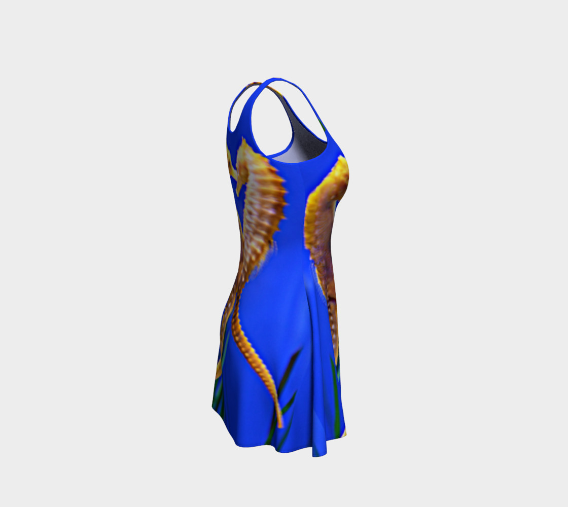 Dancing Seahorses Skater Dress  preview #4