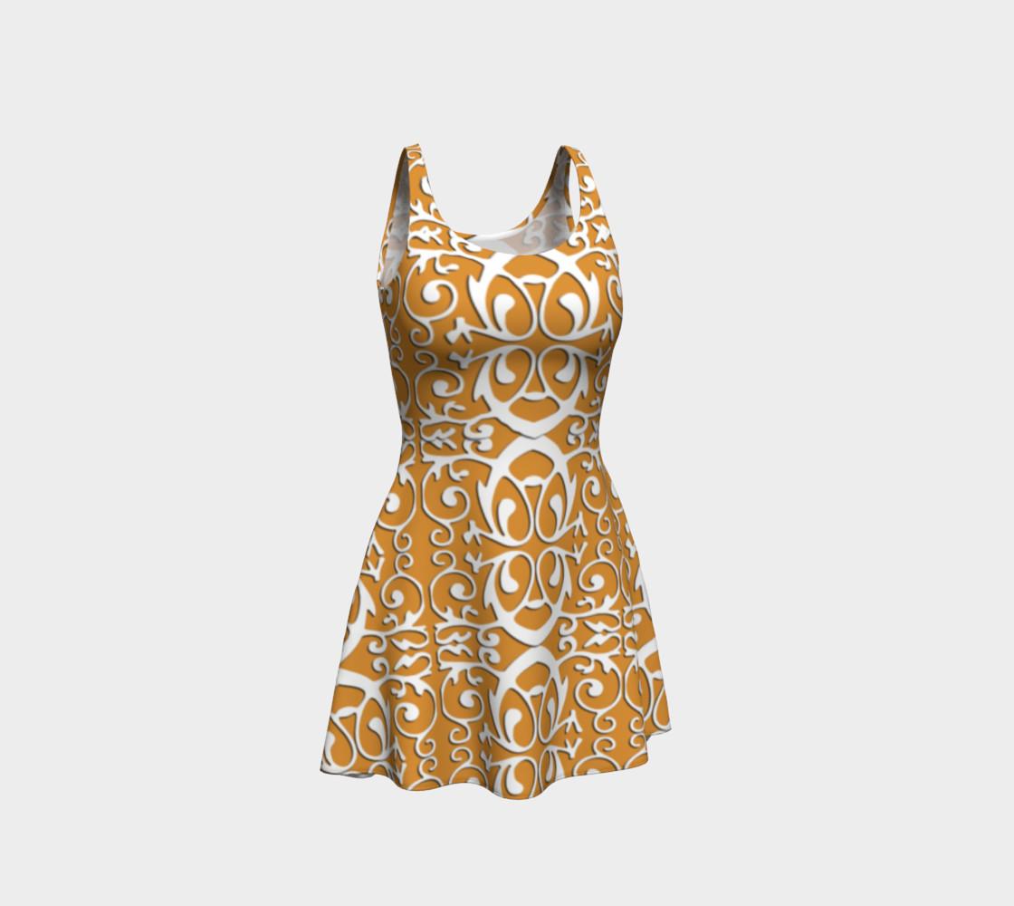 Aperçu de Trendy flare dress with origami #1