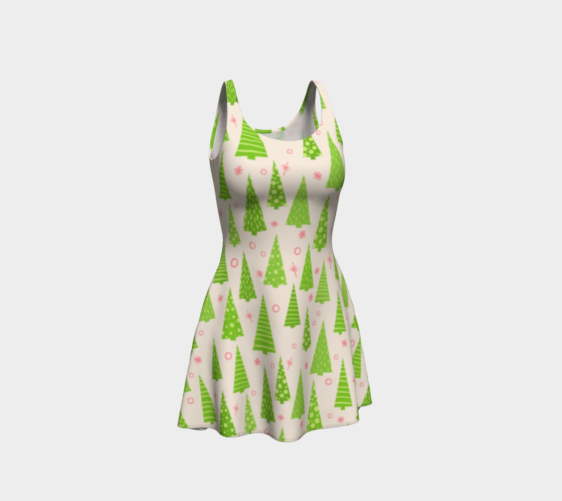 Christmas Tree Pattern Dress  preview #1