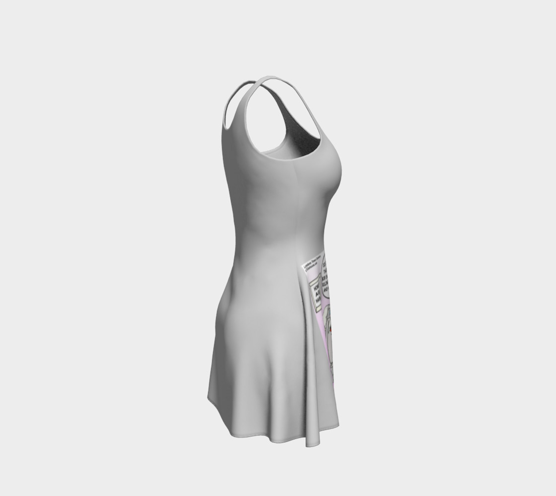 Harmonica Rest Home Flare Dress by Rick London preview #4