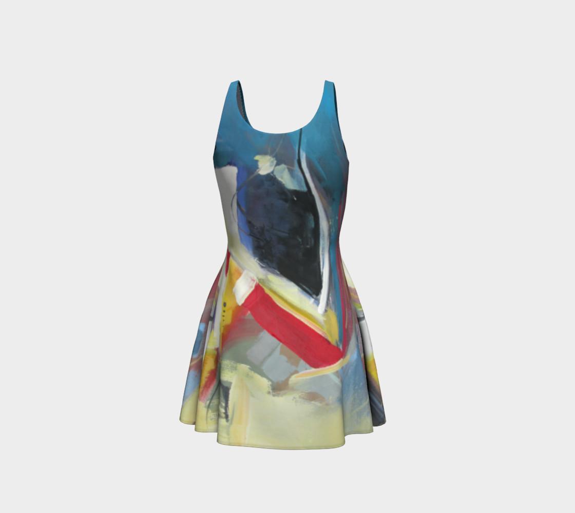 Aperçu de a single strand flare dress #3