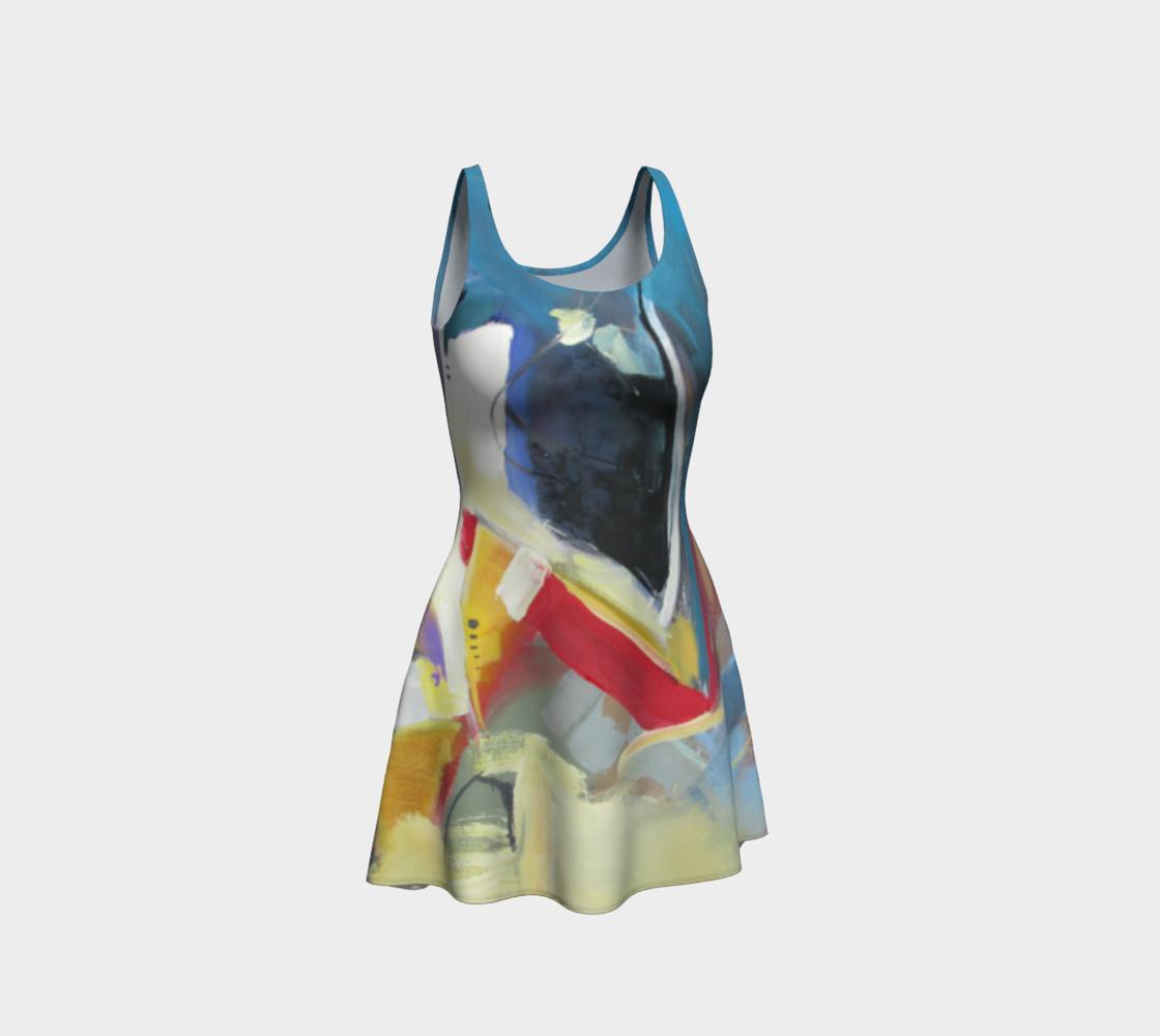 Aperçu de a single strand flare dress #1