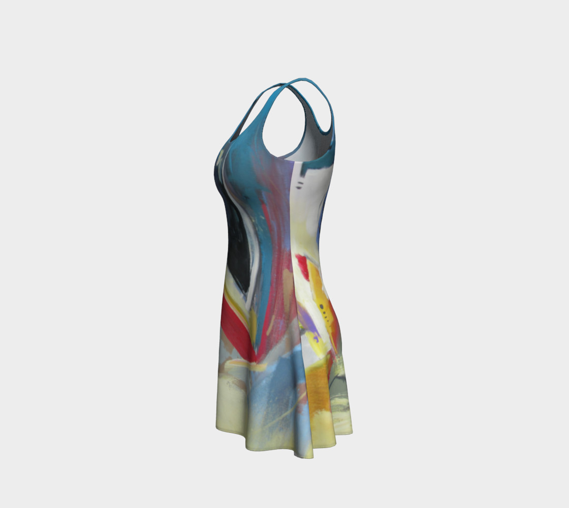 Aperçu de a single strand flare dress #2