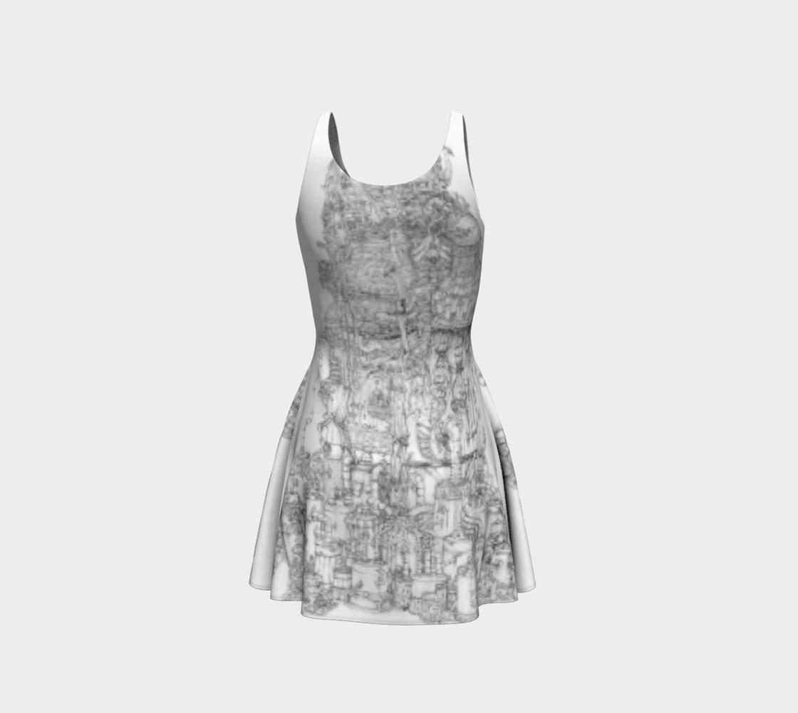 Aperçu de Space Elevator Flare Dress #3