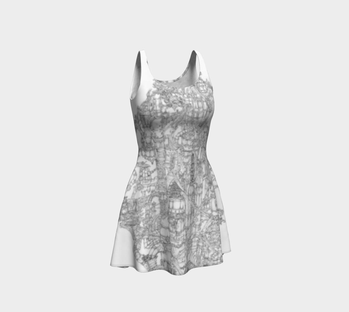 Aperçu de Space Elevator Flare Dress #1