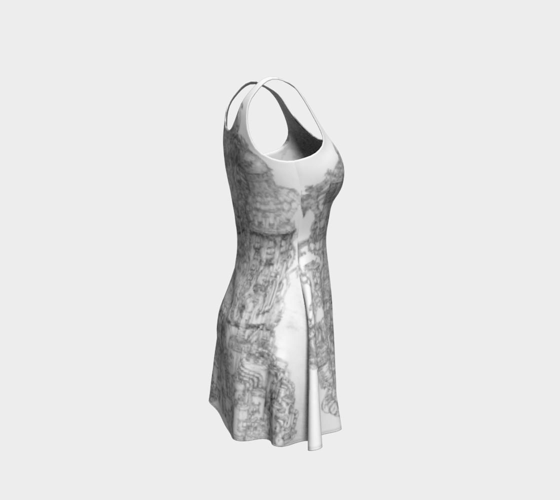 Aperçu de Space Elevator Flare Dress #4