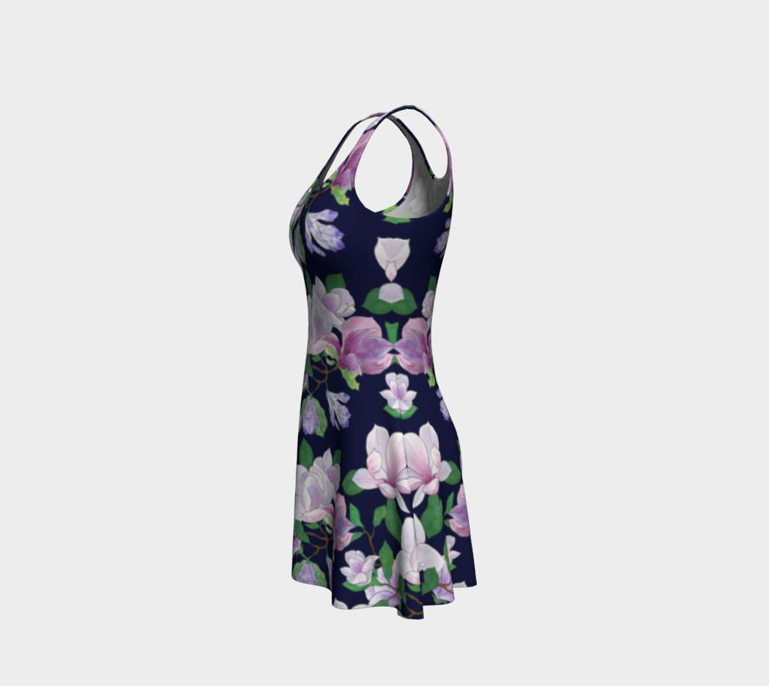 Magnolia Floral Frenzy Flare Dress preview #2