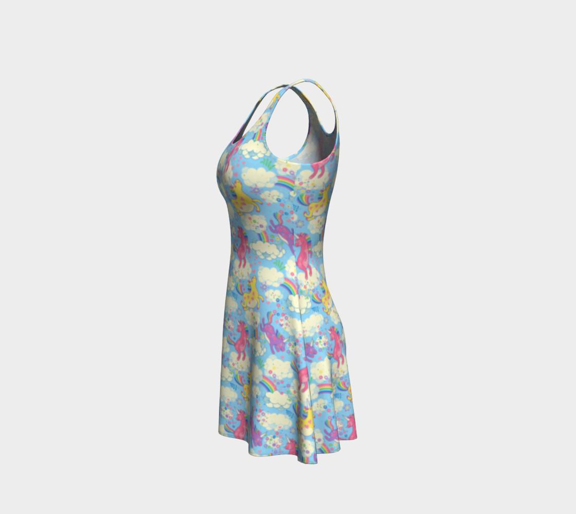 Aperçu de Happy Unicorn Flare Dress #2