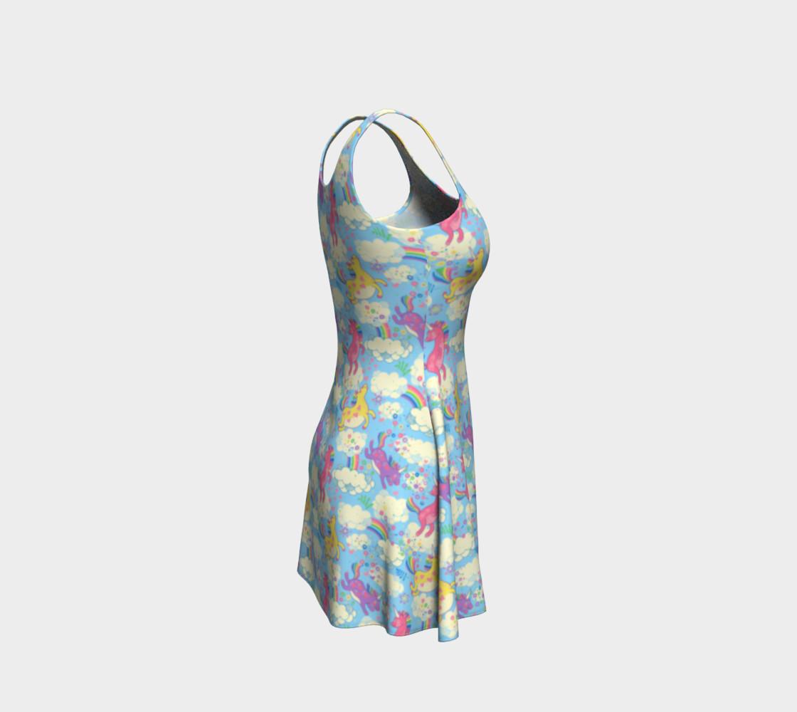 Aperçu de Happy Unicorn Flare Dress #4