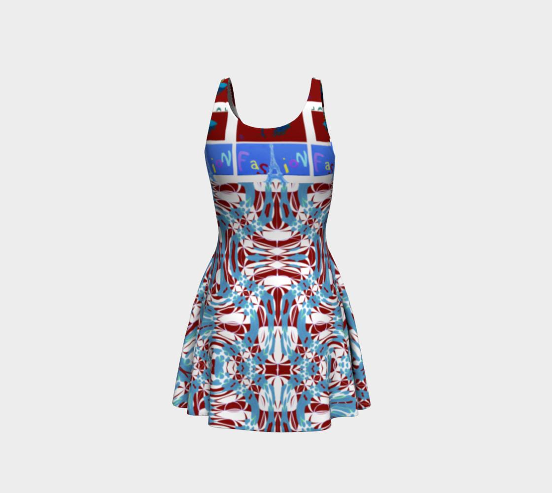 Aperçu de Ultra-Fashion Statement / Eiffel-Spiral Flare Dress #3
