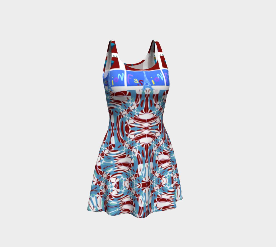 Aperçu de Ultra-Fashion Statement / Eiffel-Spiral Flare Dress #1