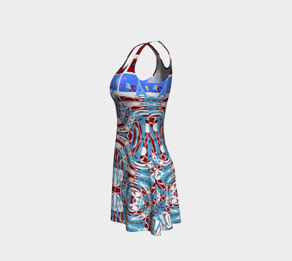 Aperçu de Ultra-Fashion Statement / Eiffel-Spiral Flare Dress #2